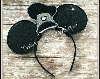 Steamboat Ears Headband by Twincess Bowtique - CUSTOM