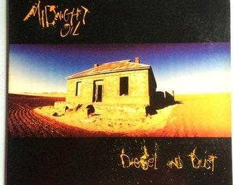 MIDNIGHT OIL Diesel And Dust Lp 1987 Original Vinyl Record Album