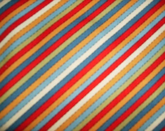 "Diagonal striped fabric - 1 yd by 45"" wide"