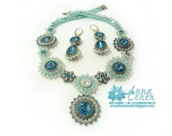 Aqua sparkles set FREE SHIPPING
