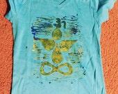 Lotus Yogi T Shirt - Custom