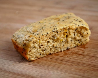 Lemon Poppyseed Protein Bars