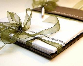Wedding Guest Book - Romantic, Elegant Weddings