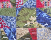 Military Quilt in with Military Colors