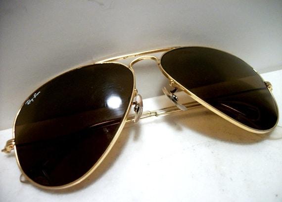 3a6affefa45 Vintage Ray Bans Marked On Temple Tip Glasses « Heritage Malta