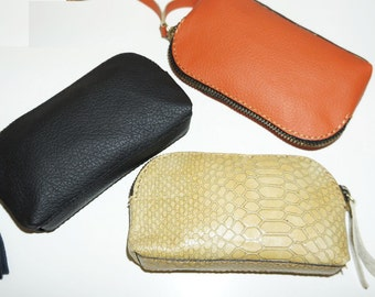 Genuine leather coin purse - LOT3