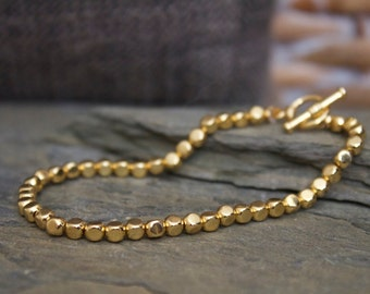 layering gold bracelet,  gold stacking bracelet, gold stack bracelet, thin gold bracelet, gold hammered bracelet, simple gold bracelet,