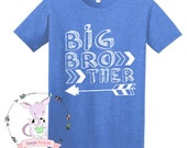Big Brother Arrow Shirt Hipster Brother Shirt Big Brother Tshirt Big Brother Arrow theme shirt Big Bro Shirt Pregnancy Announcement