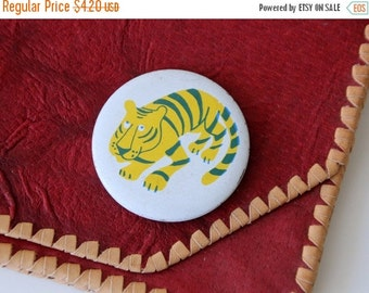 50% OFF Vintage Russian metal pin cute Tiger, made in Soviet Union