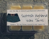 Scottish Highlands Soy Blend Wax Tarts (Outlander)