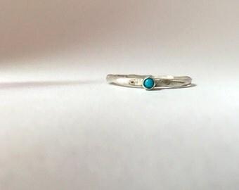 Turquoise Dot Ring