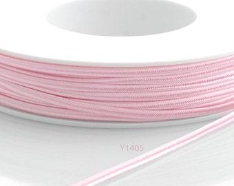 Soutache braid - Cellulose Acetate flat 3mm soutache cord - baby pink (Y1405) - 5 meters