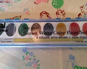Fun vintage water colors