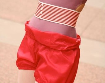 Purple Ripstop Shorts
