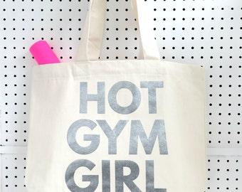 Hot Gym Girl Workout Bag