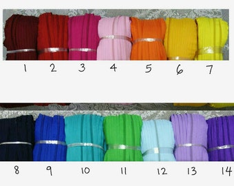 zippers for #5 zipper head in small purchase/wholesale-cut to length