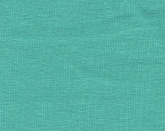 Seafoam 4 Way Stretch 8oz Rayon Spandex Jersey Knit Fabric, 1 Yard