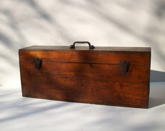 SALE Antique Bausch & Lomb Optical Co Magic Lantern with Original Wood Case / Optical Collectible / Rochester NY / Photographic Oddity