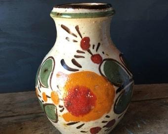 Vintage West Germany Pottery  Vase