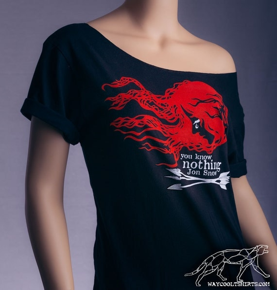 Ygritte Shirt Game Of Thrones You Know Nothing Jon Snow