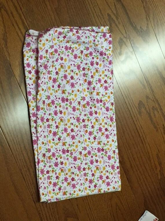 "SALE!! Small Flower Stretch Blanket ""OOAK"" Stretch Blanket Oh So Soft"
