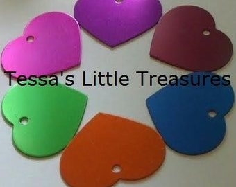 4 Small Pet Tag - Engraved 2 Sides