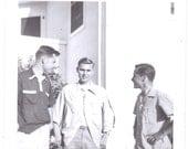 Three Young Men - Vintage Photograph, Vernacular, Found Photo, Ephemera (A)