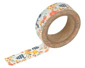 02 wedding bouquet Washi tape -floral washi-craft supplies-card making- party supplies- planner washi-weddings-Love My Tapes-Dailylike