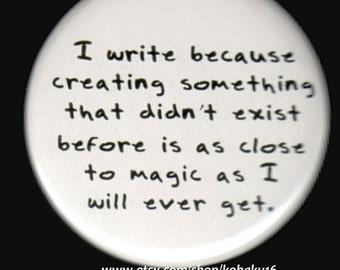 Writing Magic Button