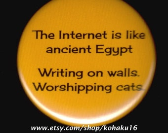 Ancient Egypt and the Internet Button