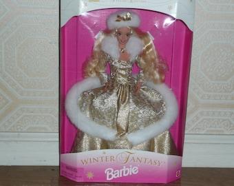 Winter Fantasy Barbie, No. 15334 - Barbie Winter Fantasy, Mint in Box