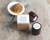 MINI - Honey Blossom Shea Butter Cream - with pure essential oils + organic shea butter - paraben free - 1.2 ounces
