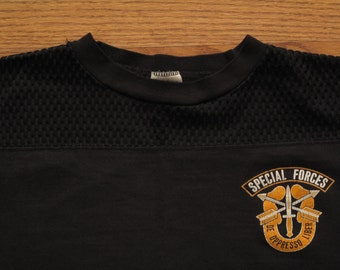 mens vintage Special Forces football shirt