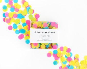 Hand-Cut Confetti - Neon