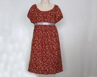 Girls Regency dress, Regency style dress,Peasant style dress Size 3/4 Ready to Ship