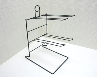 Vintage Wire Display Stand Jewelry Holder Snack Rack Chip Rack Snack Metal Rack