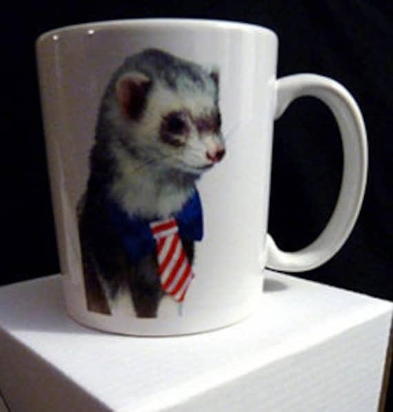 Office Weasel Ferret Mug