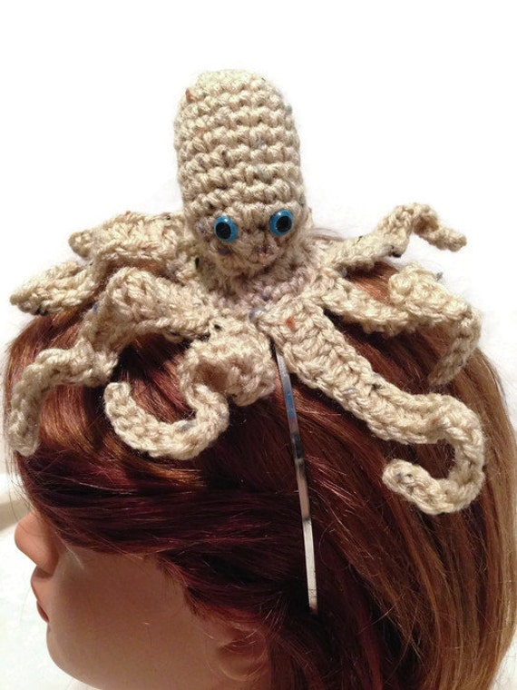Octopus Headband Amigurumi Octopus Octopus by AddSomeStitches