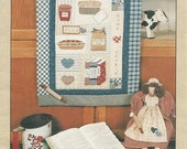 """Heirloom Beginnings """"Home Cookin"""" Doll and Wall Quilt Craft Pattern   CLEARANCE ITEM"""