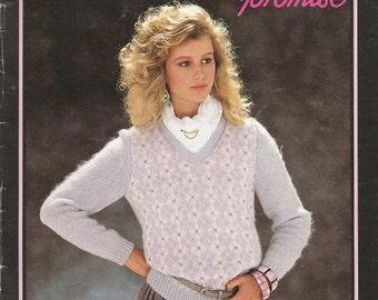 """Vintage Susan Bates for Patons """"Promise"""" Knitting Leaflet"""