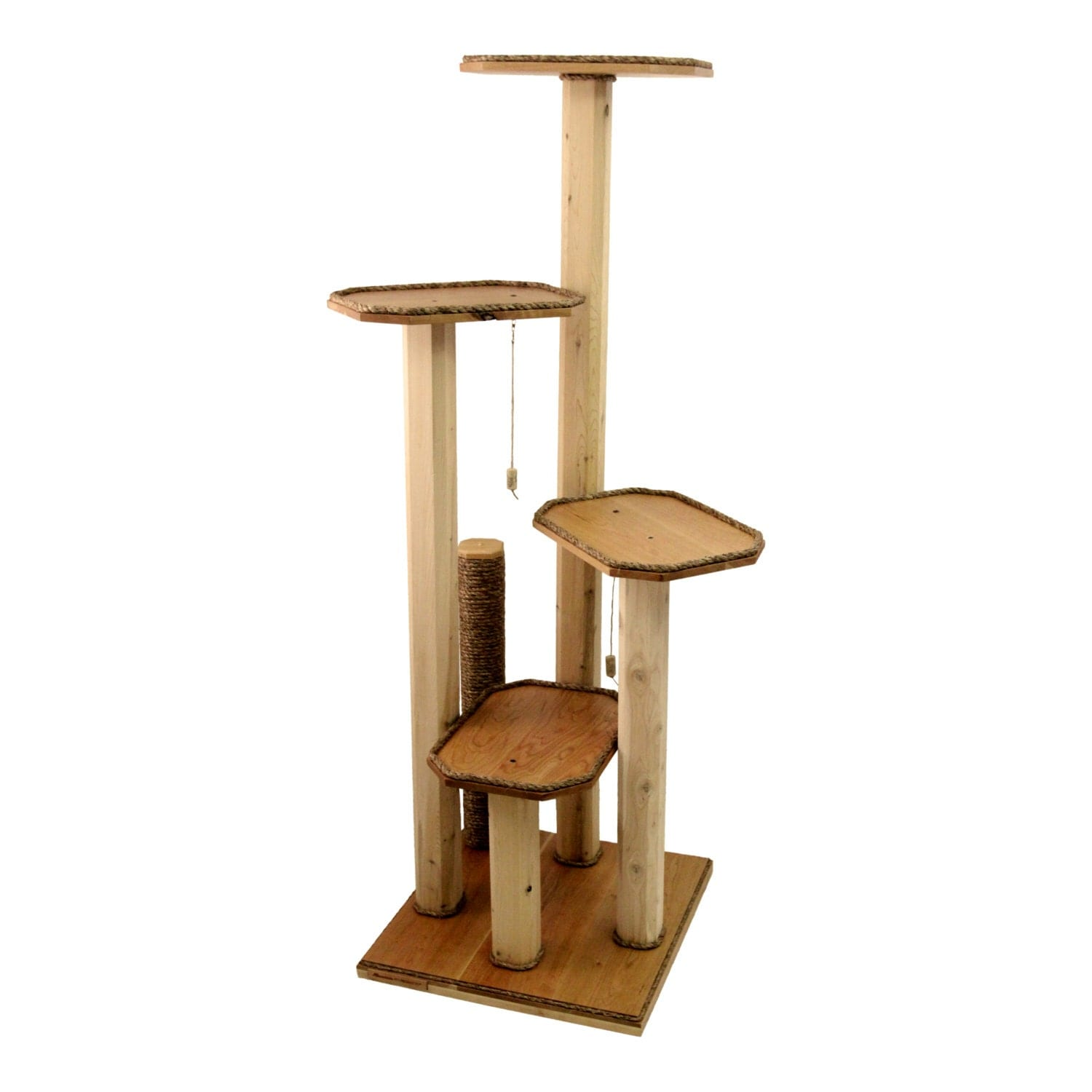Cat Tree Furniture Solid Cherry Wood Cat By Mountainpetproducts