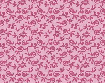 Summer Clearance Halle Rose Small Floral in Orchid by Riley Blake - 1 Yard