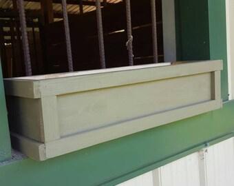 Window boxes, deck railing boxes, window flower box, Window Garden box, window planter boxes