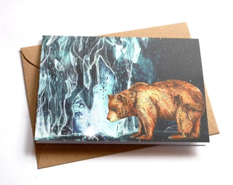 BearCave // Greeting Card