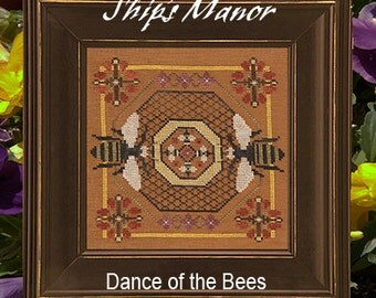 Dance of the Bees PDF Cross Stitch