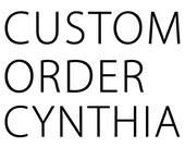 Custom Order Cynthia - large mountain shelf with 5 key hooks