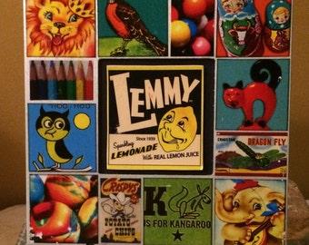 Lemmy Lemonhead Soda Art