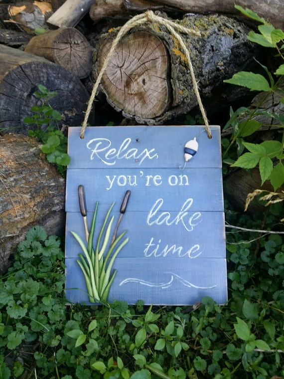Lake themed home decor by soulobydiana on etsy for Lake themed decor