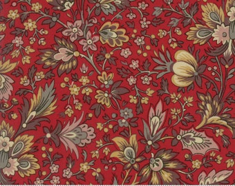 Madame Rouge - Safaran in Rouge by French General for Moda Fabrics