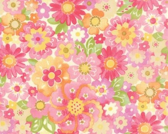 Colette - Blossom in Rose by Chez Moi for Moda Fabrics